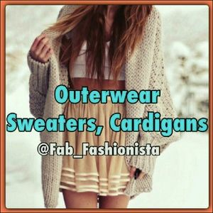 Fab_Fashionista Jackets & Coats - Outerwear, sweaters, cardigans